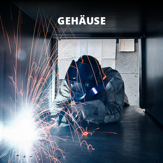Fertigungsspektrum Gehäuse - King GmbH Blechverarbeitung in Fluorn-Winzeln