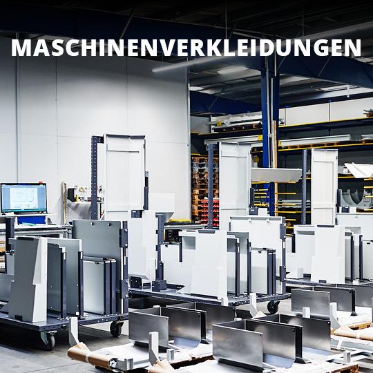 Fertigungsspektrum Maschinenverkleidung - King GmbH Blechverarbeitung in Fluorn-Winzeln