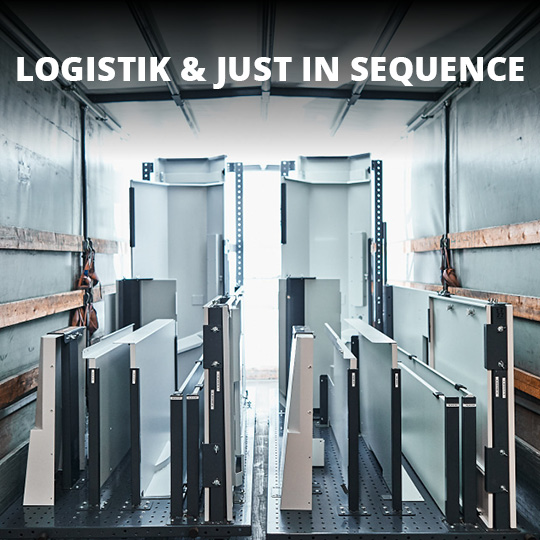 Logistik und Just in Sequence - King GmbH Blechverarbeitung in Fluorn-Winzeln