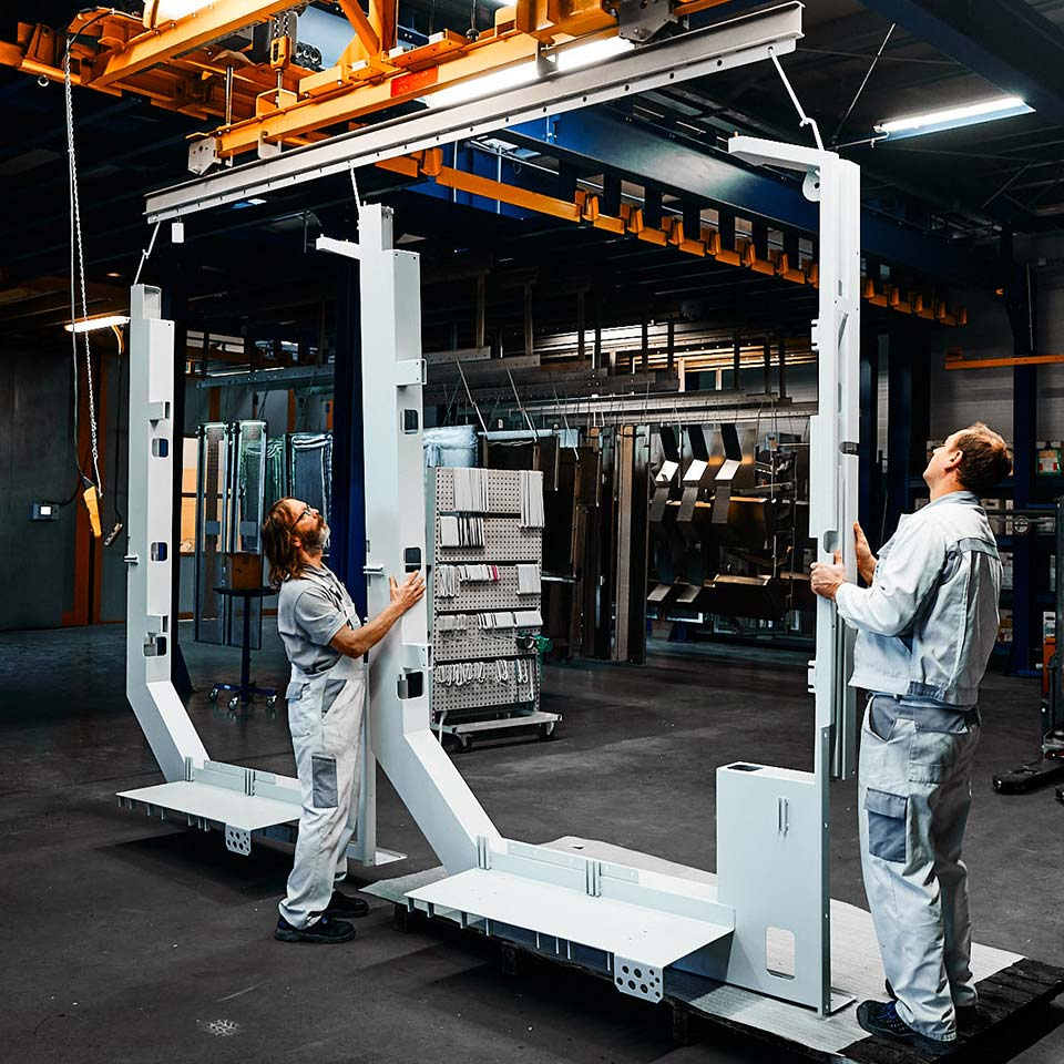 Experten im Leistungsbereich Blech Pulverbeschichten - King GmbH Blechverarbeitung in Fluorn-Winzeln