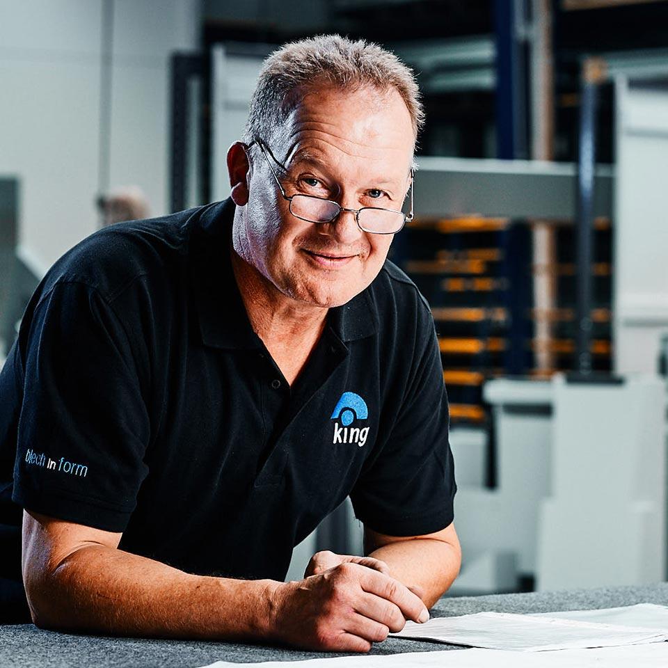 Kundenlösungen & Kundenservice - King GmbH Blechverarbeitung in Fluorn-Winzeln