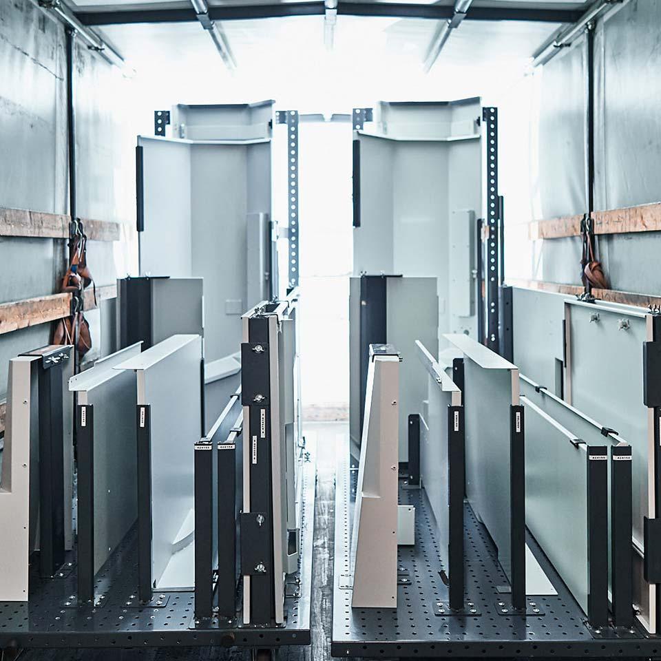 Leistungsbereich Just in Sequence - King GmbH Blechverarbeitung in Fluorn-Winzeln