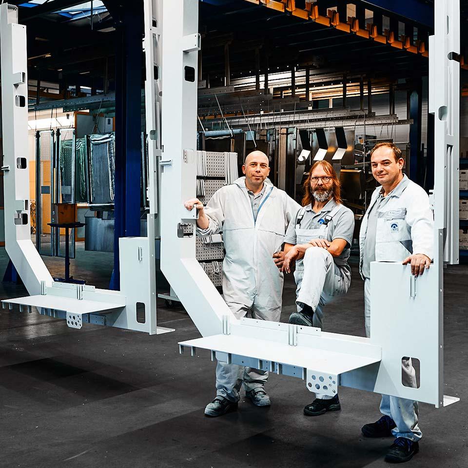 Experten für Logistik & Just in Sequence - King GmbH Blechverarbeitung in Fluorn-Winzeln