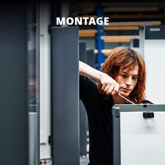 Leistungsbereich Montage - King GmbH Blechverarbeitung in Fluorn-Winzeln